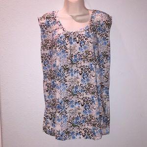 Emily Stacy blouse, size L.
